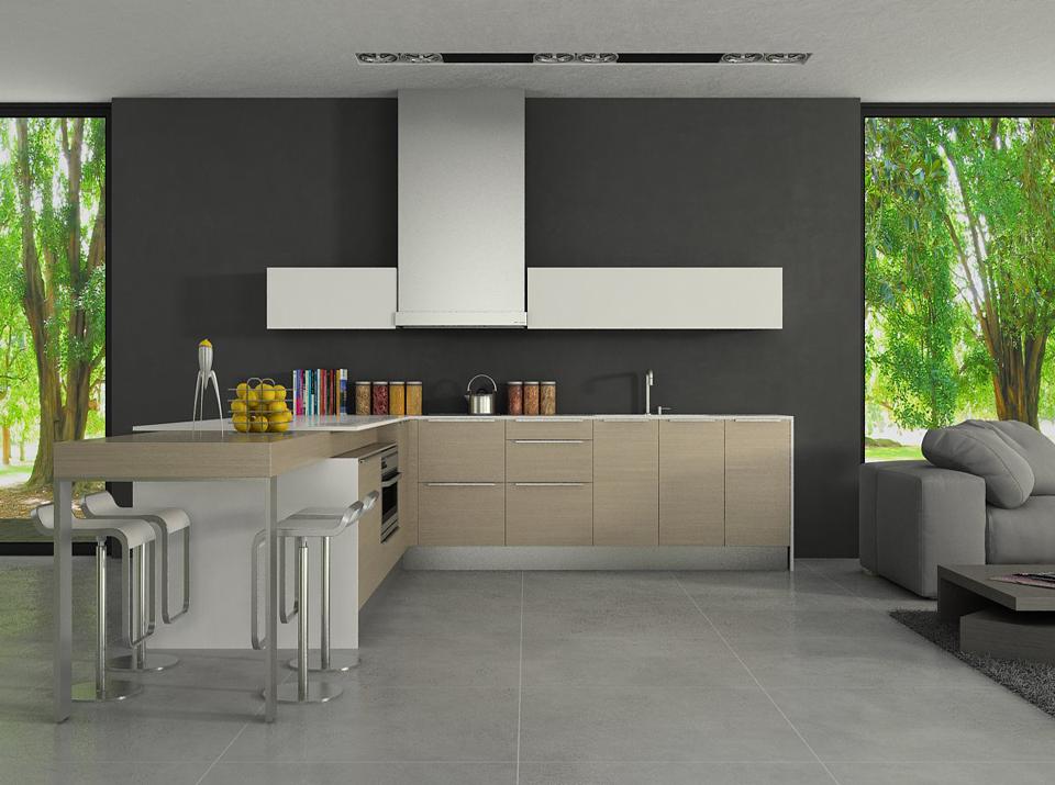 Binteriorismo mobiliario cocina muebles lugo galicia for Mobiliario cocina