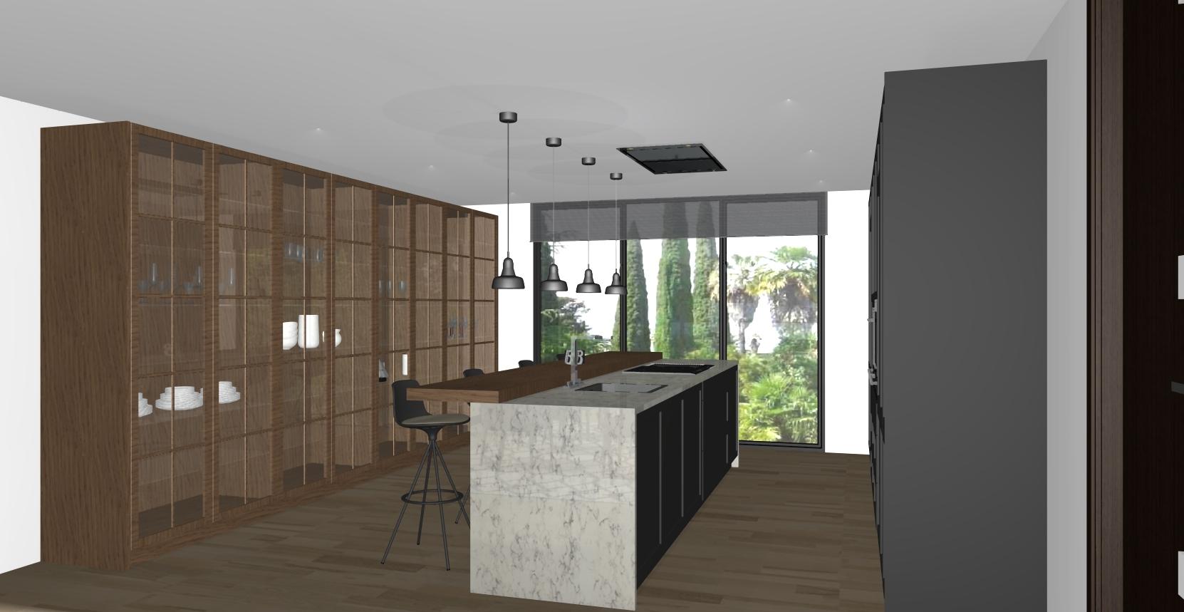 Binteriorismo mobiliario cocina muebles lugo galicia - Viviendas modulares galicia ...
